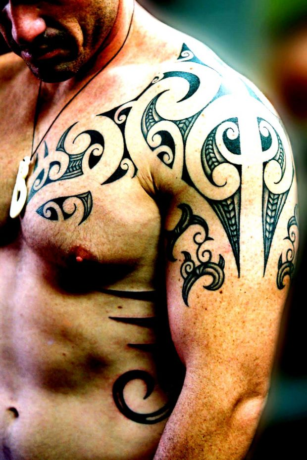 tatuaże maori
