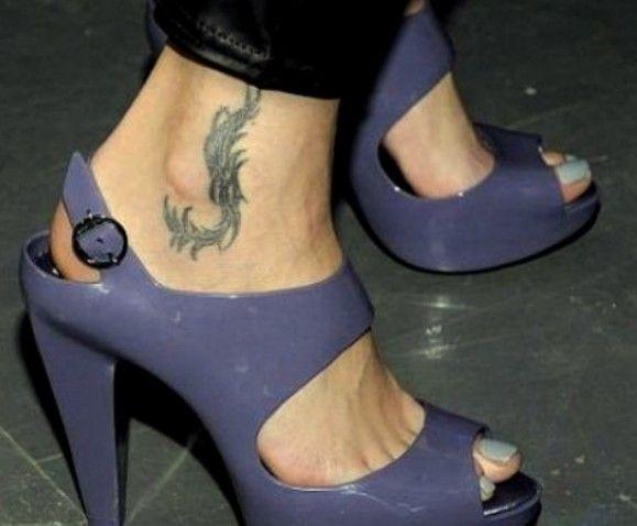 Tatuaże Agnieszki Szulim
