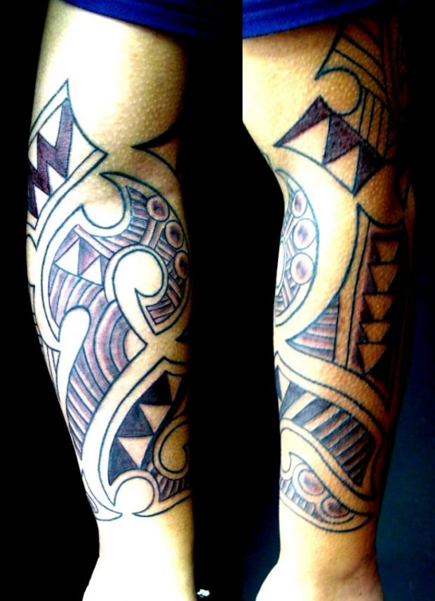 tatuaże maoryskie