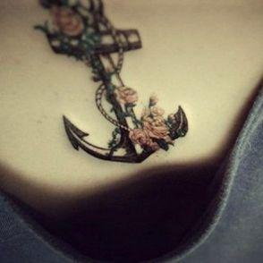 tatuaże kotwice