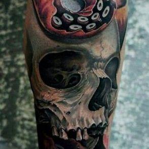 tatuaże ośmiornice