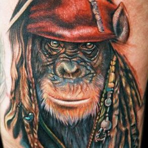 małpa pirat