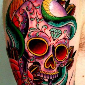 tatuaże czaszki 25806