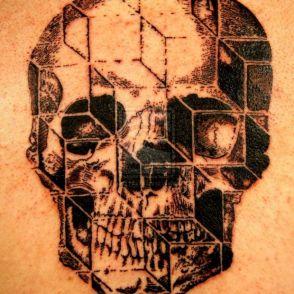 tatuaże czaszki 58739