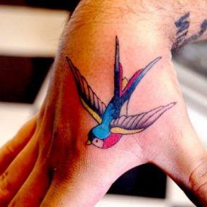 tatuaże jaskółki 39234