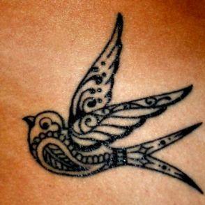 tatuaże jaskółki 77299