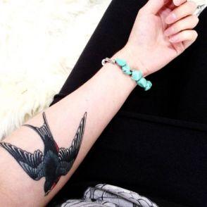 tatuaże jaskółki 42714