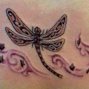 tatuaże ważki 19858